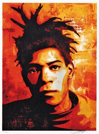 basquiat by shepard fairey