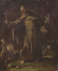 predica di san pietro d'alcantara by luca giordano