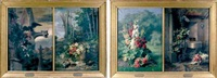 les quatre saisons (set of 4; in 2 frames) by etienne corpet
