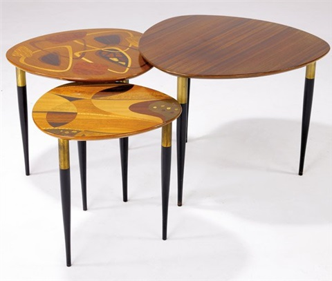nesting tables set of 3 by fabry