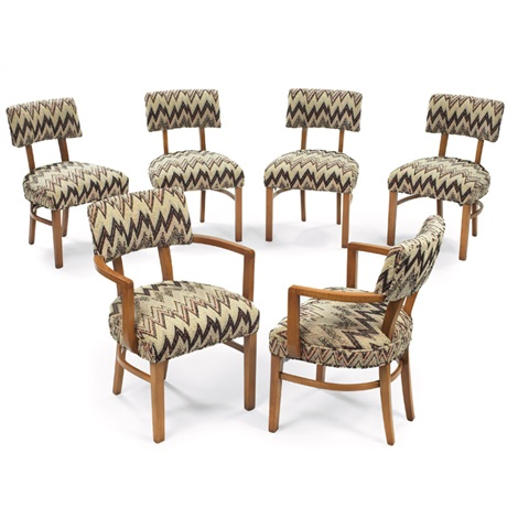 Dining Chairs By Gilbert Rohde
