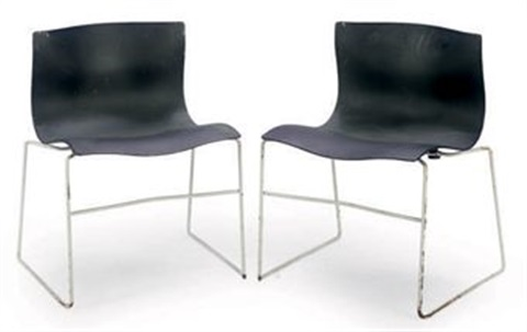 Handkerchief Chairs (designed By Massimo Vignelli; Set Of 10) By Knoll  International