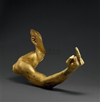 middle finger by ai weiwei