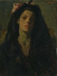 ritratto di donna by osman lorenzo de scolari