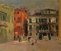 platz in venedig by edmund pick-morino