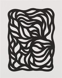 loops, black and white by sol lewitt