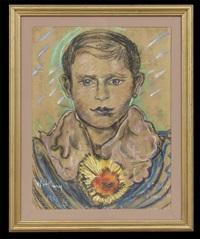 portrait of a young man by stanislaw ignacy witkiewicz