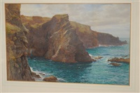 the thwarting cliffs that bound the sight by cyril ward