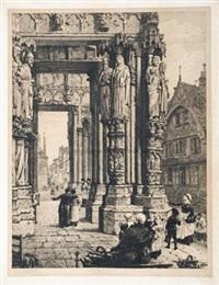 巴黎沙特尔大教堂的北耳堂 by axel herman haig