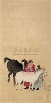 相马图 by jiang xun
