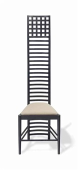 side chair by charles rennie mackintosh