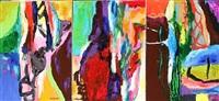 triptych eternity mirror by rolf gjedsted