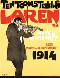 tentoonstelling laren hotel hamdorff by willy sluijter