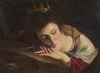 santa caterina by pietro paolini