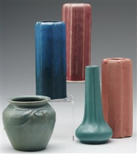 vase (5 works) by arequipa pottery