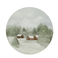 snowy painting no.3 by maureen gallace
