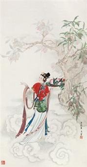 献寿图 by liu yuesheng