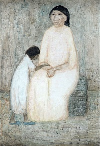 mother and daughter by leonidas gambartes