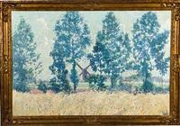 zomerlandschap (summer landscape) by edmond verstraeten