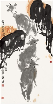 黄土高坡 by qi xinmin