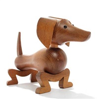 dachshound by kay bojesen