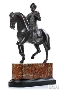 reiterstandbild des königs henri iv. by barthélémy tremblay