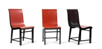 chair (+ 2 others; set of 3) by werner west