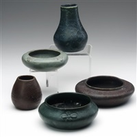 bowls (+ 4 others; 5 works) by arequipa pottery
