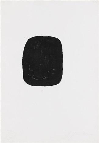 concetto spaziale noirs avec trous extérieur by lucio fontana