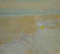 citron sur un muret, plage portugaise by jean jacques gut
