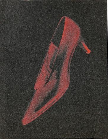 950ac3676ac4 DIAMOND DUST RED SHOE by Andy Warhol on artnet