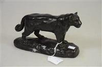 jaguar debout by barye