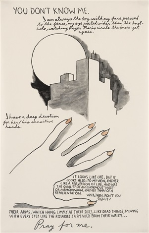 you dont know me by raymond pettibon