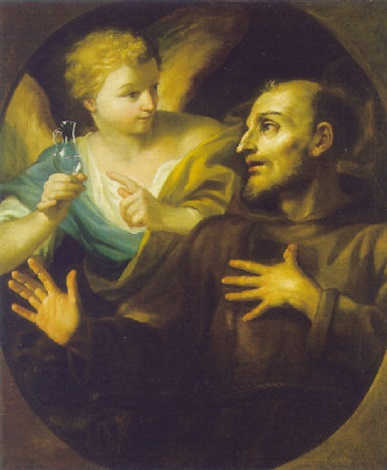 san francesco d'assissi e l'angelo by stefano maria legnani