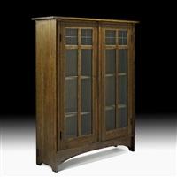 two-door bookcase (no. 702) by harvey ellis