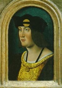 bildnis könig louis xii. von frankreich by master of the magdalen legend