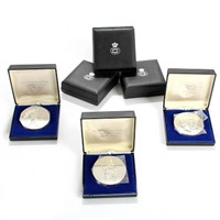 h. c. andersen fairytale medals (set of 6) by arno malinowski