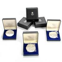 h. c. andersen fairytale medals (set of 6) by arno malinowski