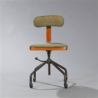 swivel chair (model 2275) by jorgen rasmussen
