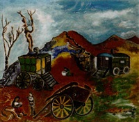 gypsy caravan by tom early