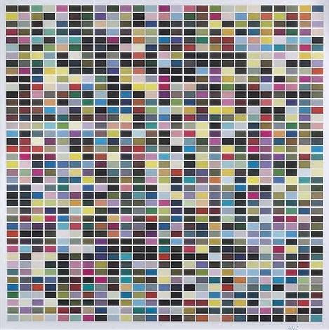1025 farbfelder by gerhard richter