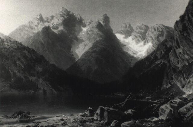 der lago di lantro dürrensee mit dem monte cristallo by marie von kendell