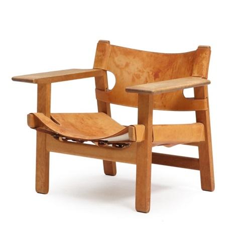 the spanish chair by børge mogensen on artnet