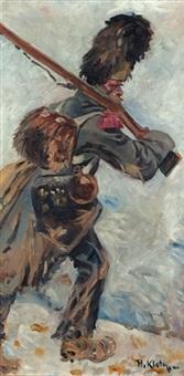 französischer grenadier by hugo klein