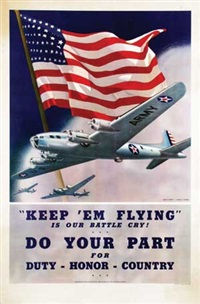 keep em flying is our battle cry! by albro f. downe and dan v. smith
