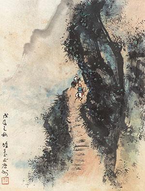 行路图 by li xiongcai