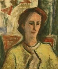 portrait of a woman by ethel v. ashton