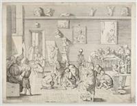 accademia dei pittori by pietro francesco alberti