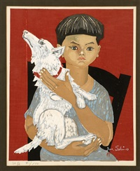 boy and dog i by junichiro sekino