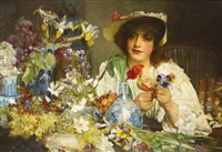 the florist by edgar bundy
